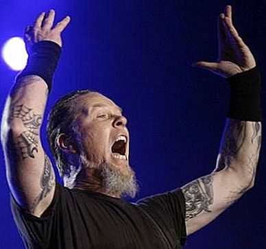 Béard James Hetfield je terorista