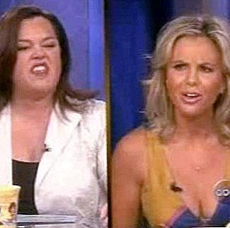 Rosie O'Donnell e Elisabeth Hasselbeck: a guerra acabou!
