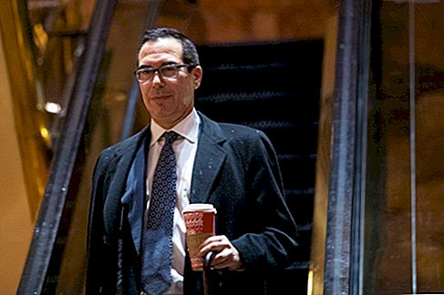 US-Finanzminister Steven Mnuchin hat eine ordentliche Liste von Hollywood Executive Producer Credits